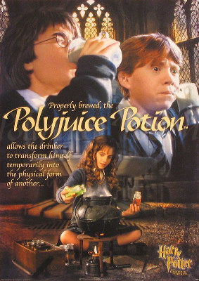 And the Chamber of Secrets; Polyjuice Potion Posters