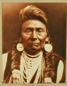 Chief Joseph - Nez Perce. Edward S. Curtis Posters