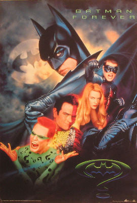 Batman Forever (1995) - Directed by Joel Schumacher. With Val Kilmer, Tommy Lee Jones, Jim Carrey. Posters