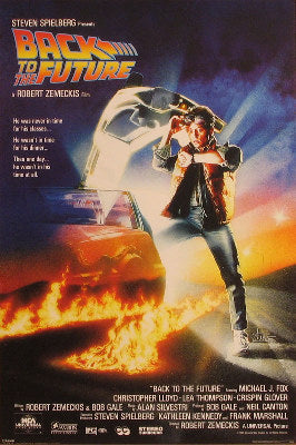 Back to the Future - Michael J. Fox - Christopher Lloyd - Lea Thompson - Crispin Glover - Thomas F. Wilson Posters