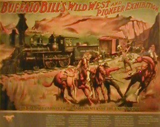 Wild West and Pioneer Exhibition - Poster is plasticized. Posters