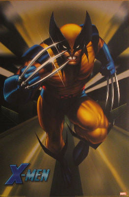 Marvel; Cartoon Posters
