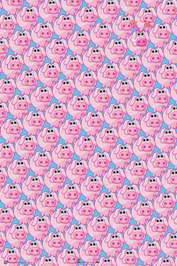 Party Pig - Animal Soup Posters