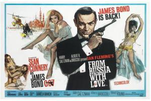 From Russia with Love; Sean Connery Posters