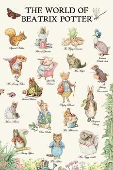 The World of Beatrix Potter Posters