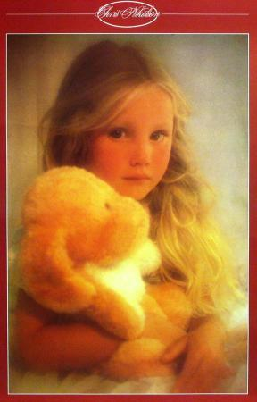 Girl with Star  Wooden Carving Posters