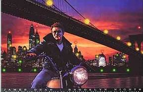 Brooklyn Bridge - Motorcycle - Motorcycle Posters