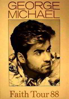 Original Promo Poster - The Faith Tour 1988 Posters