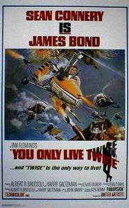 Sean Connery - You Only Live Twice Posters