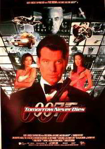 Tomorrow Never Dies. 007 Pierce Brosnan, Daphne Deckers Posters