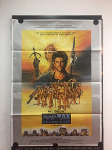 Mad Max III-Mel Gibson, Orig. Vintage Movie Poster (1985)