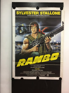 Rambo-First Blood, Orig.Giant Movie Poster (1982)