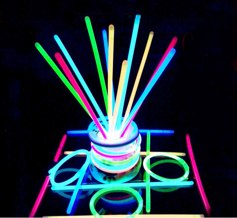 Christmas Party Neon Glowstick Bracelet