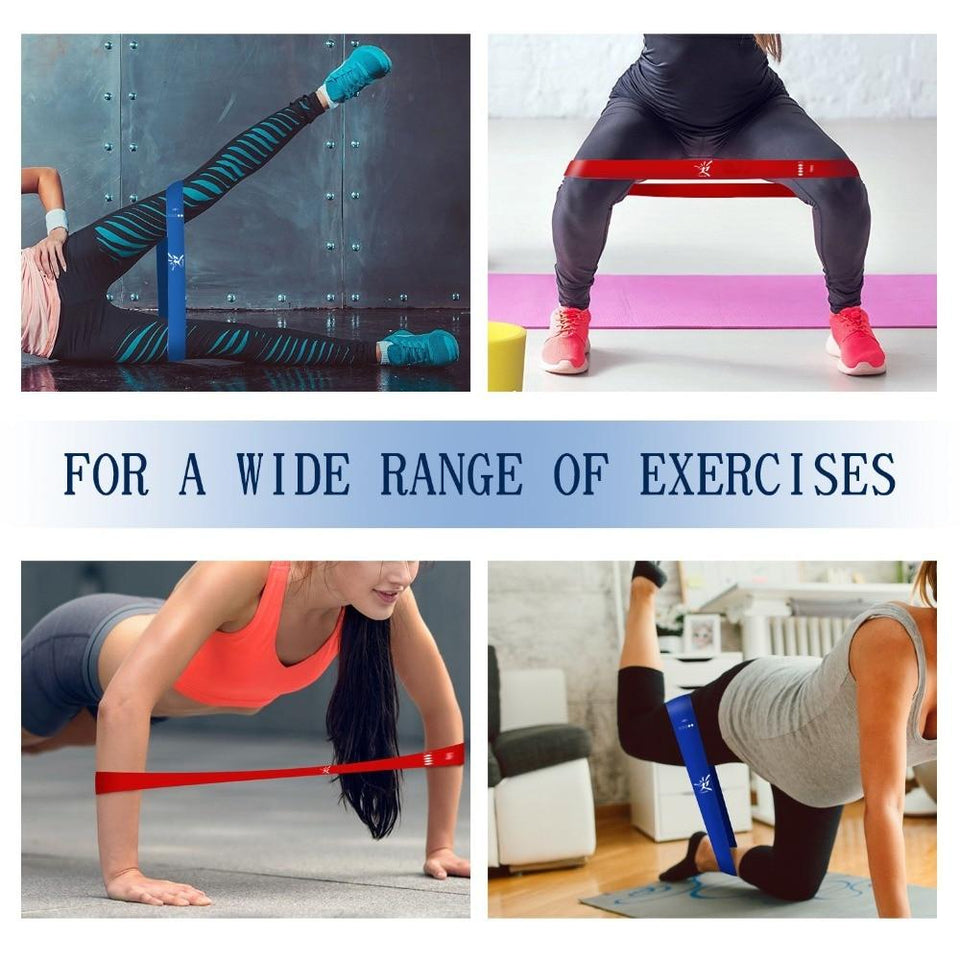 5PCs/Set Resistance Bands