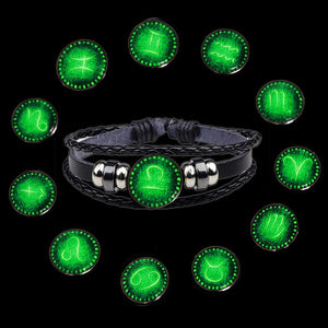 Glow in the Dark Zodiac Jewelry