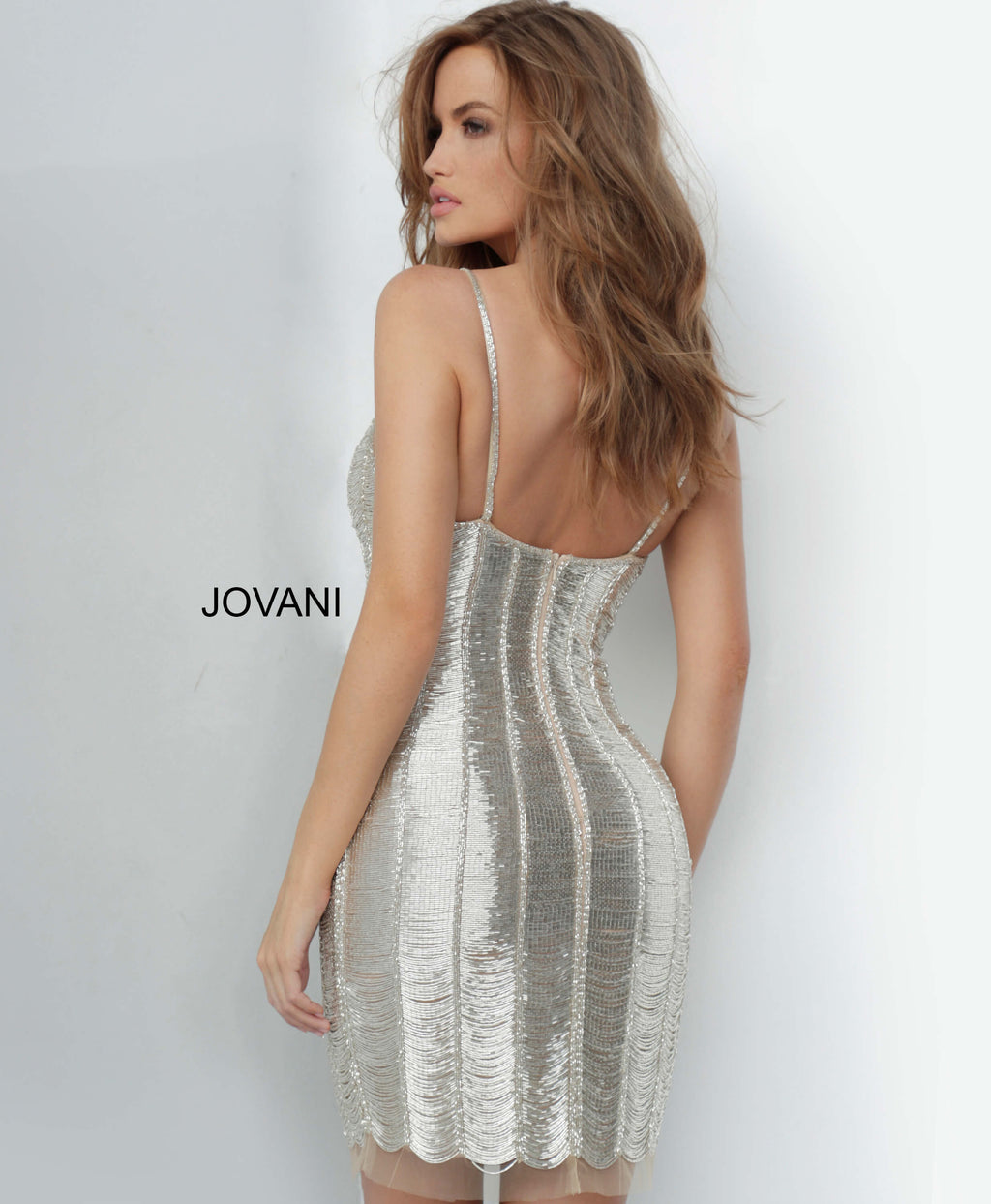 JOVANI 1861 Sheath Cocktail Dress