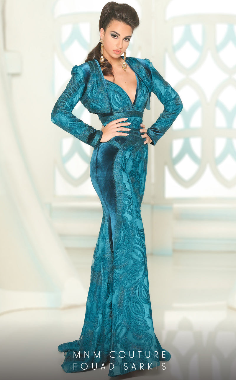 MNM Couture 2517 Evening Gown - CYC Boutique