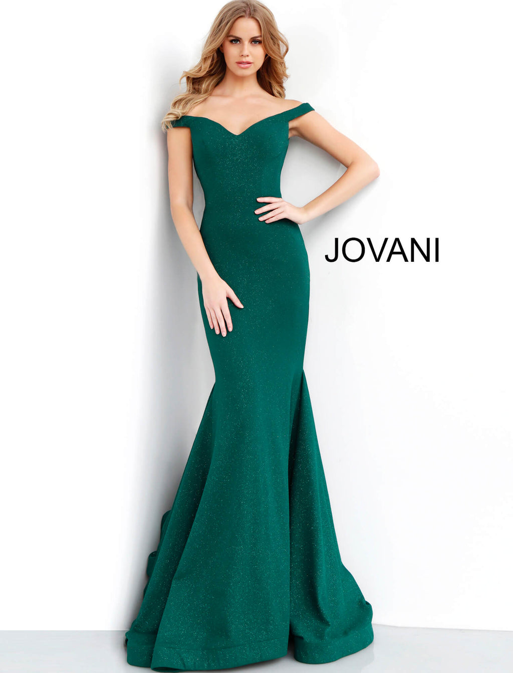 JOVANI 55187 Sweetheart Neckline Mermaid Evening Dress - CYC Boutique
