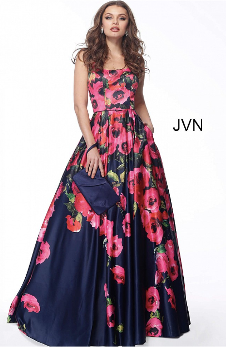 JOVANI JVN67128 Printed Ball Gown - CYC Boutique
