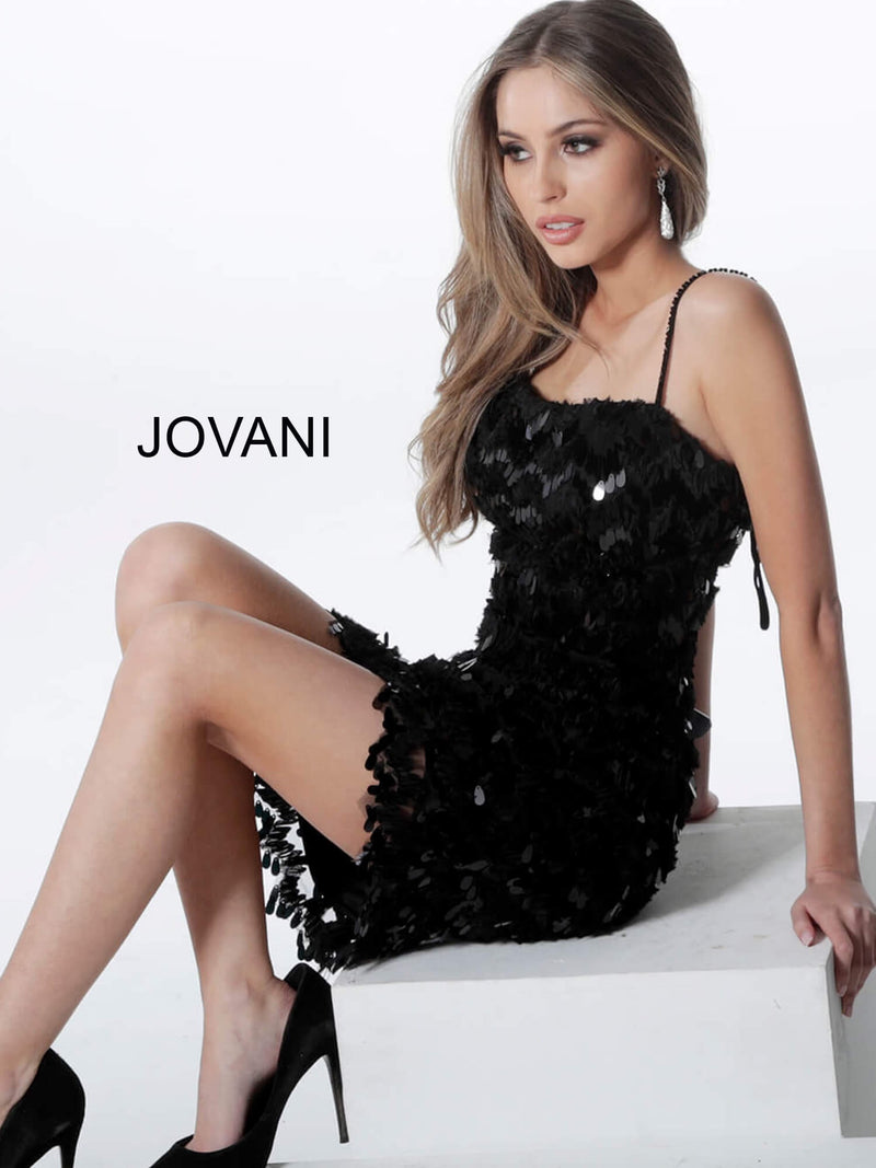 JOVANI 1480 Embellished Cocktail Dress - CYC Boutique