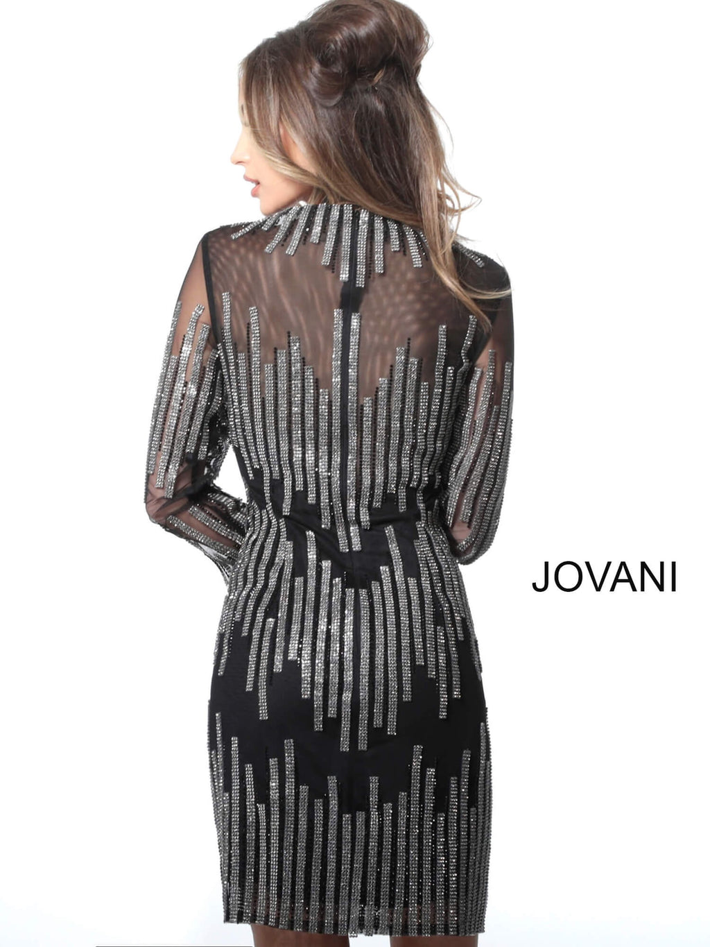 JOVANI 3964 Embellished Cocktail Dress