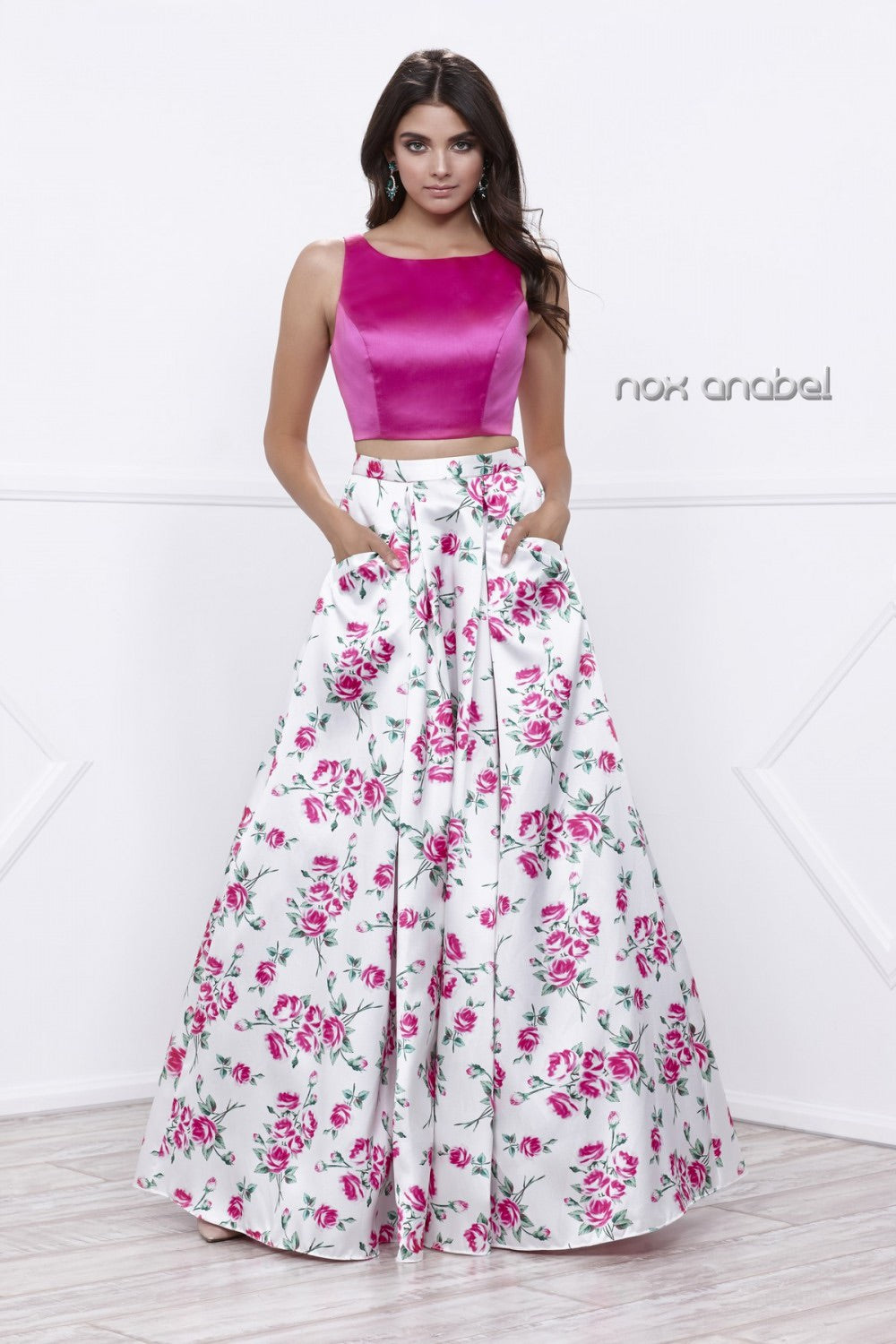 Nox Anabel 8331 Two-Piece Evening Dress