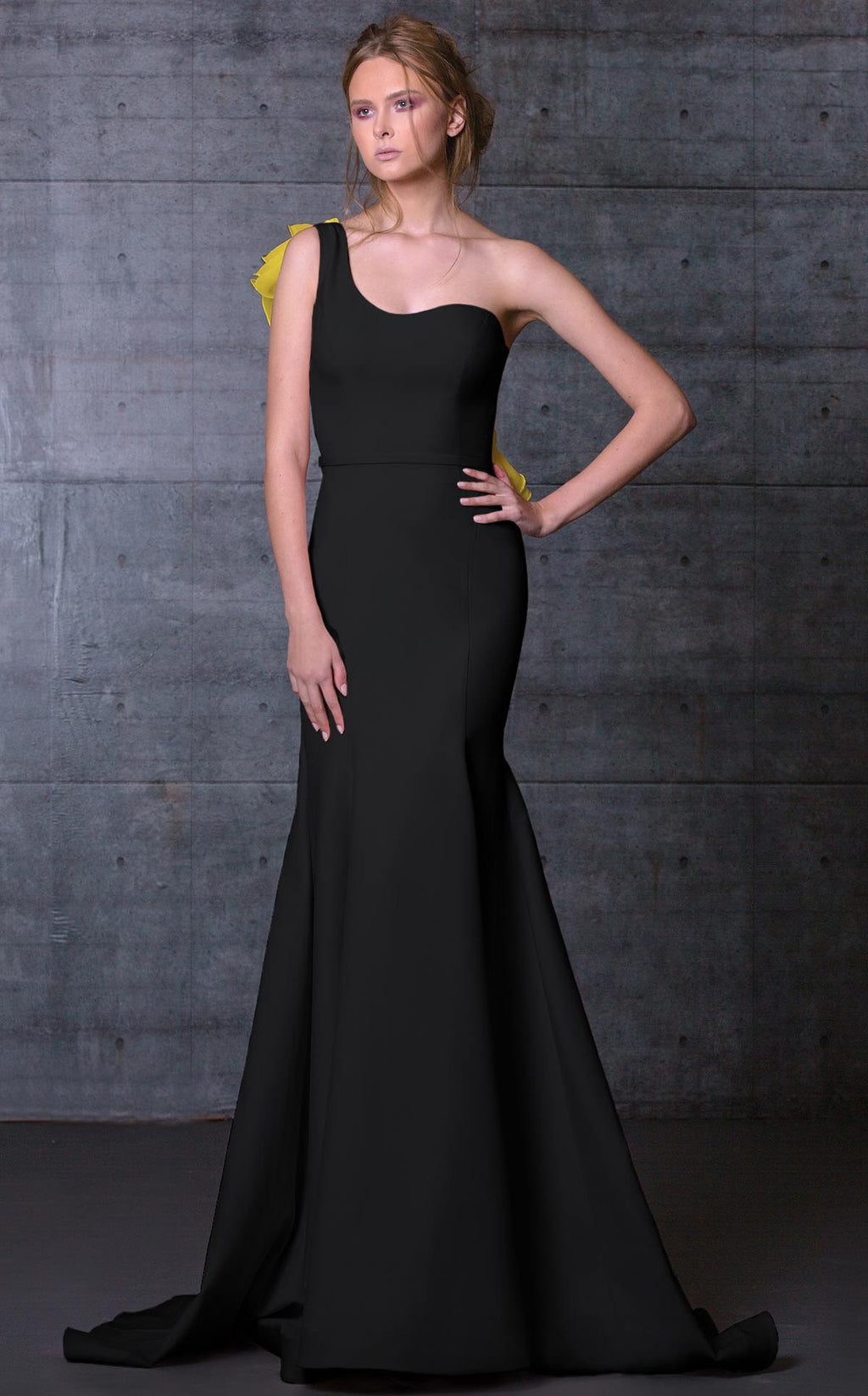 MNM Couture N0105 One Shouder Evening Dress - CYC Boutique