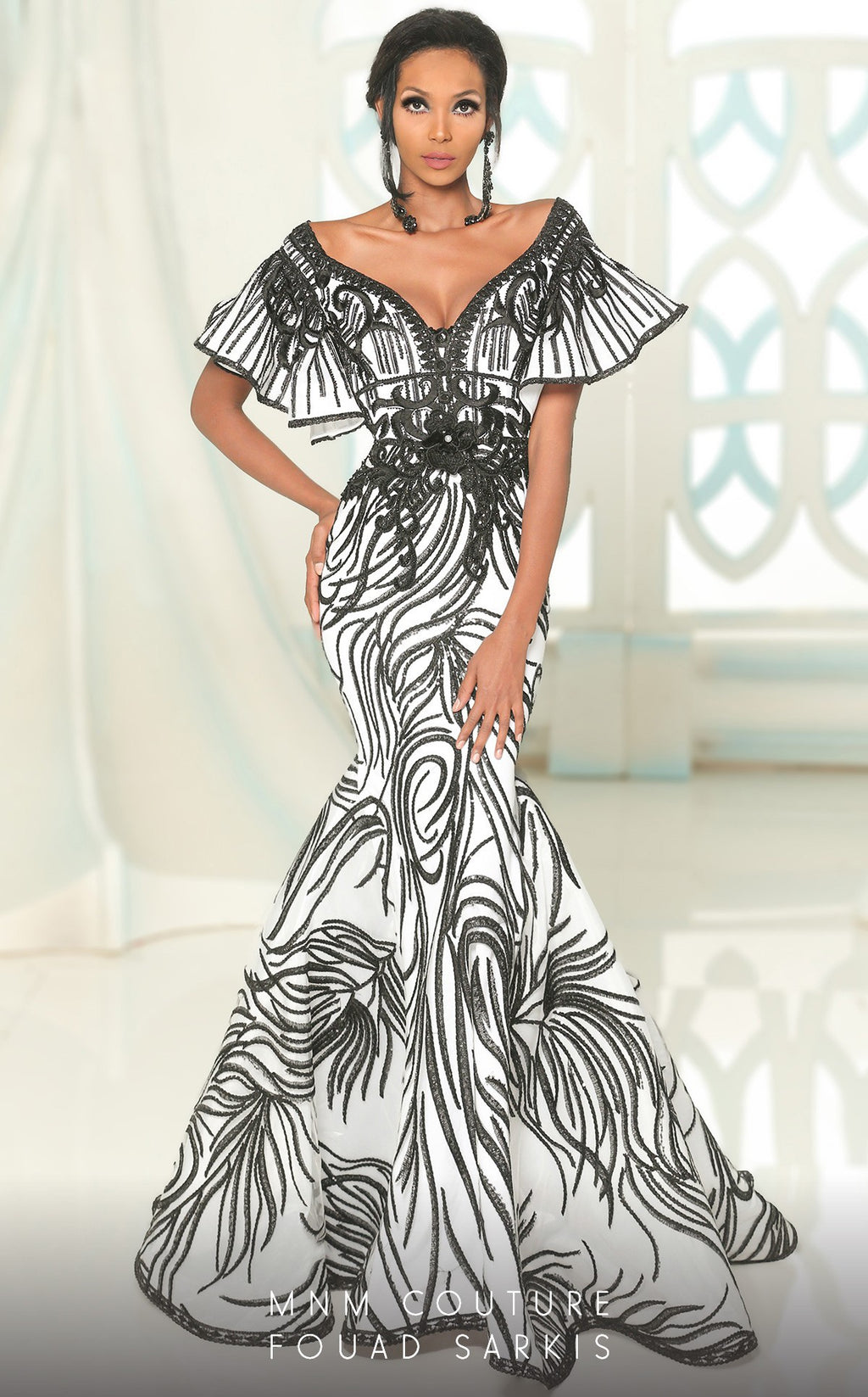 MNM Couture Fouad Sarkis 2529 Evening Dress - CYC Boutique