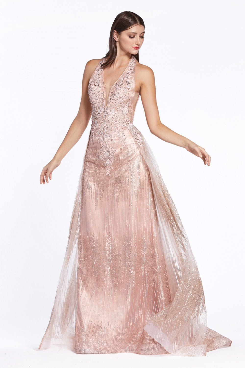 Cinderella Divine CW767 Evening Dress - CYC Boutique