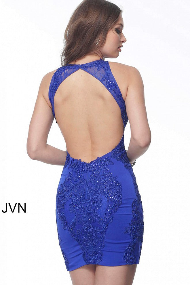 JOVANI JVN66631 Embellished Cocktail Dress - CYC Boutique