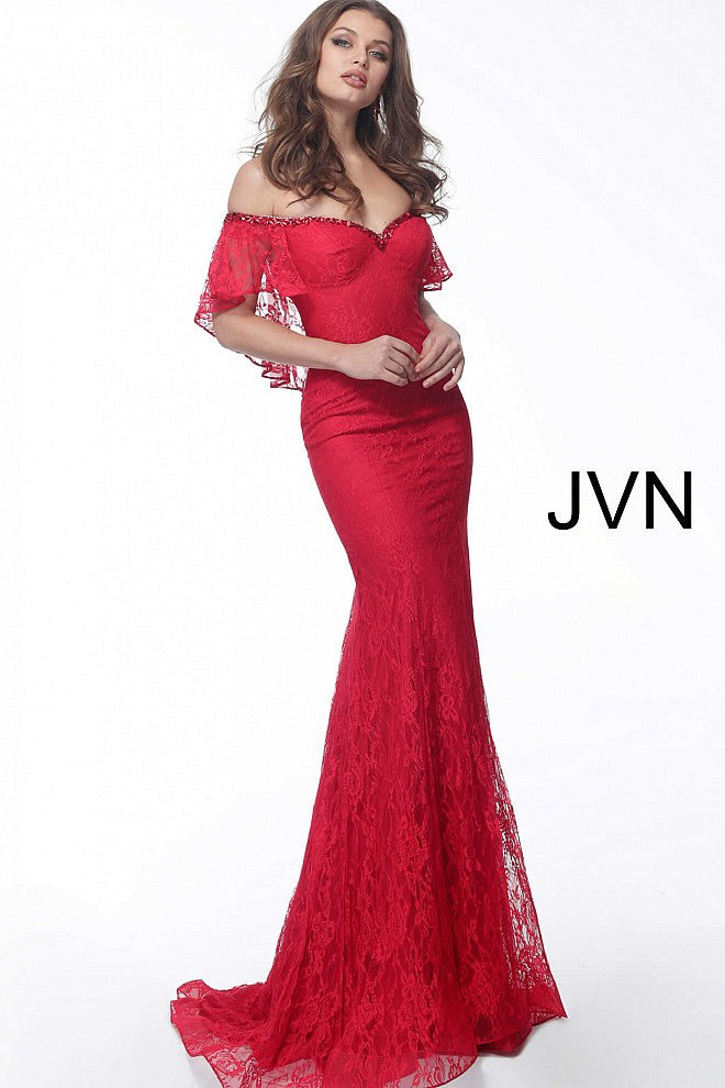 JOVANI JVN64116 Sweetheart Neck Evening Dress