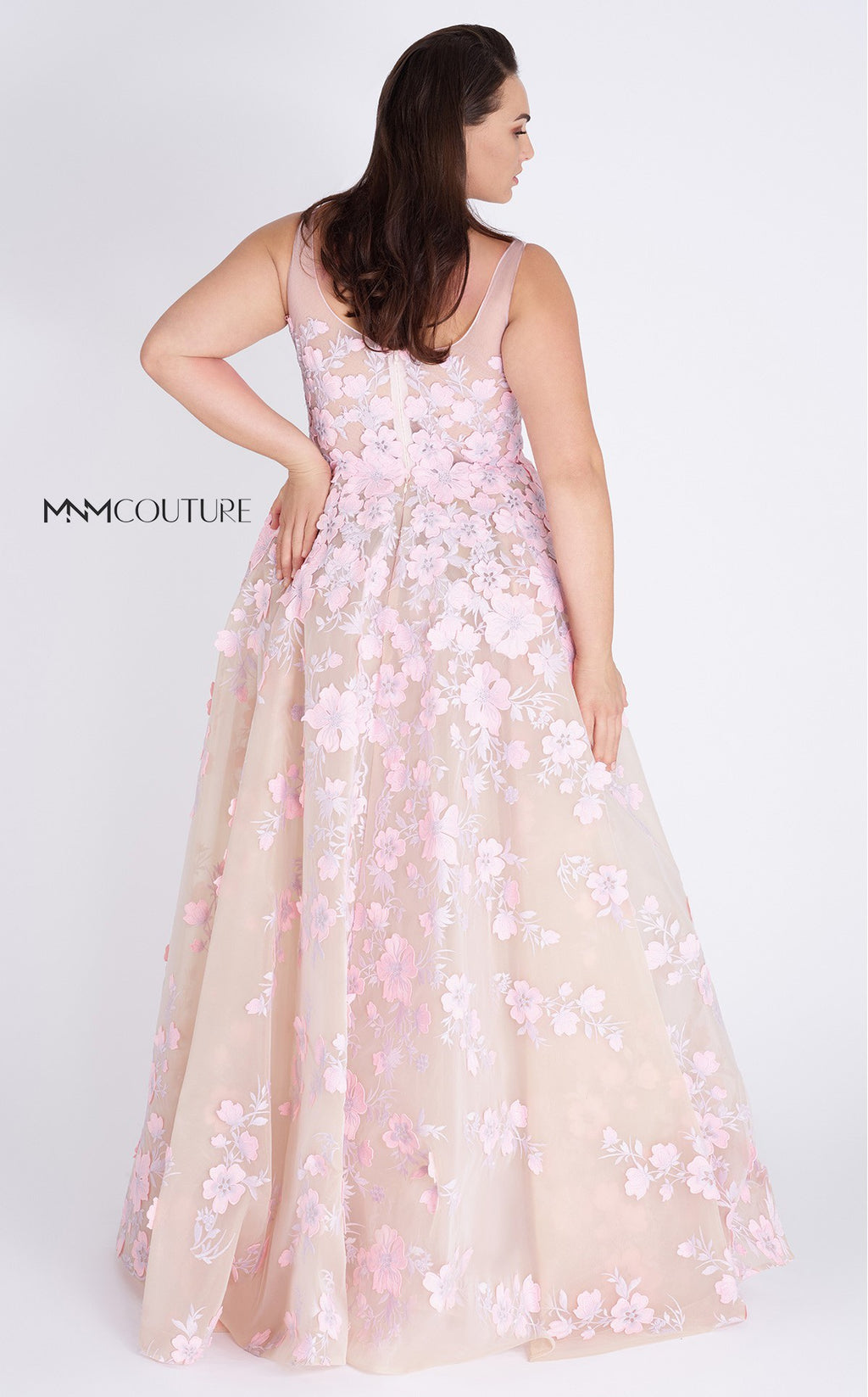 MNM Couture K3558 A-Line Evening Dress