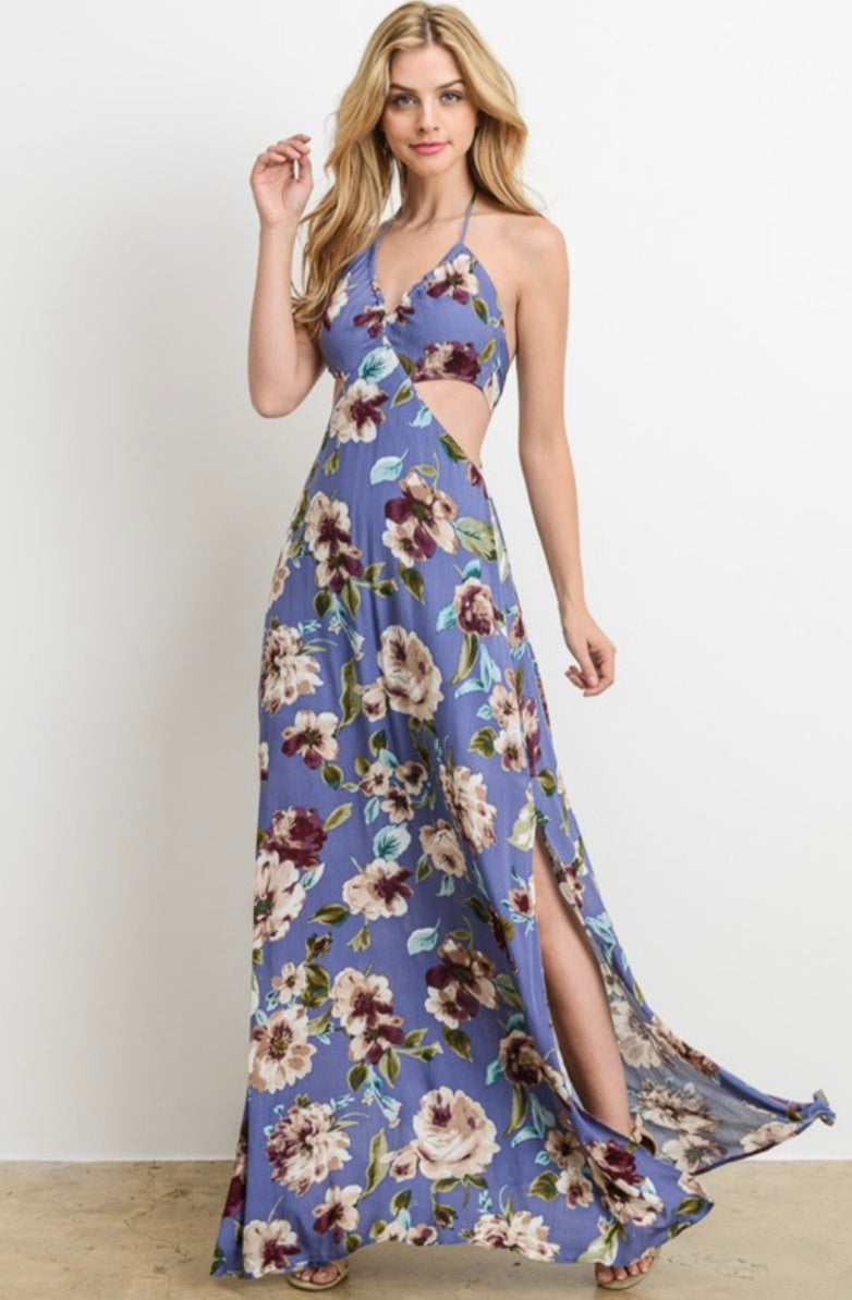 Christine Floral Maxi Dress - CYC Boutique