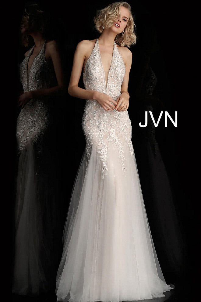 JOVANI JVN62690 Embellished Evening Dress