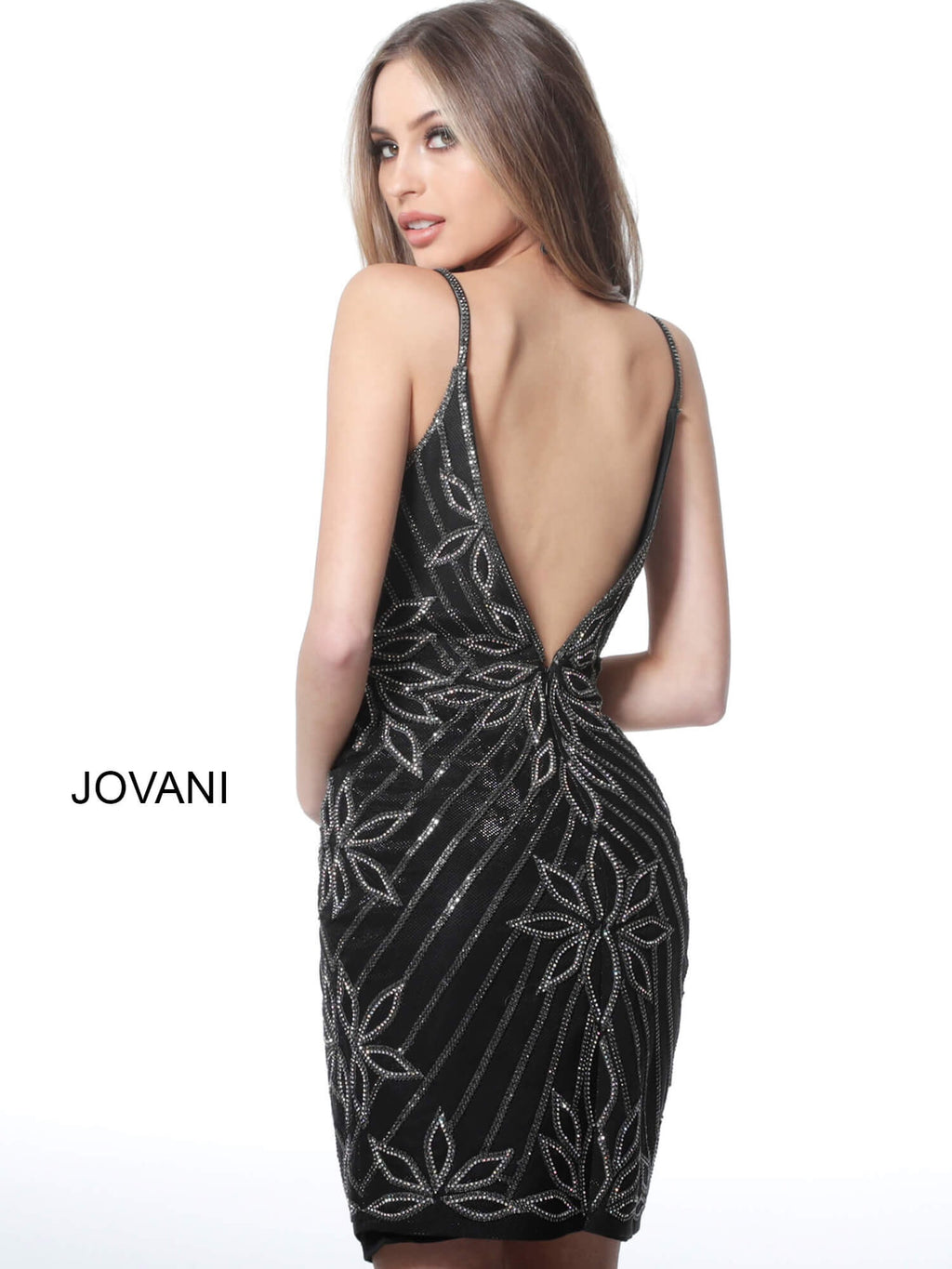 JOVANI 4391 Embellished Cocktail Dress