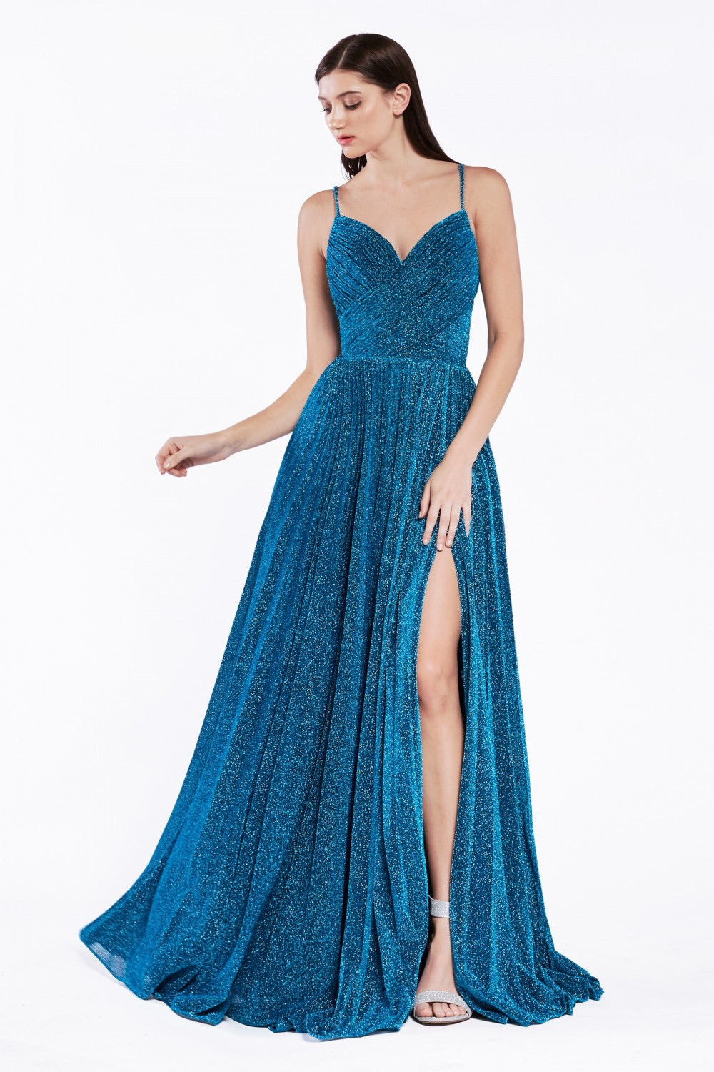 Cinderella Divine CJ534 A-Line Evening Dress - CYC Boutique