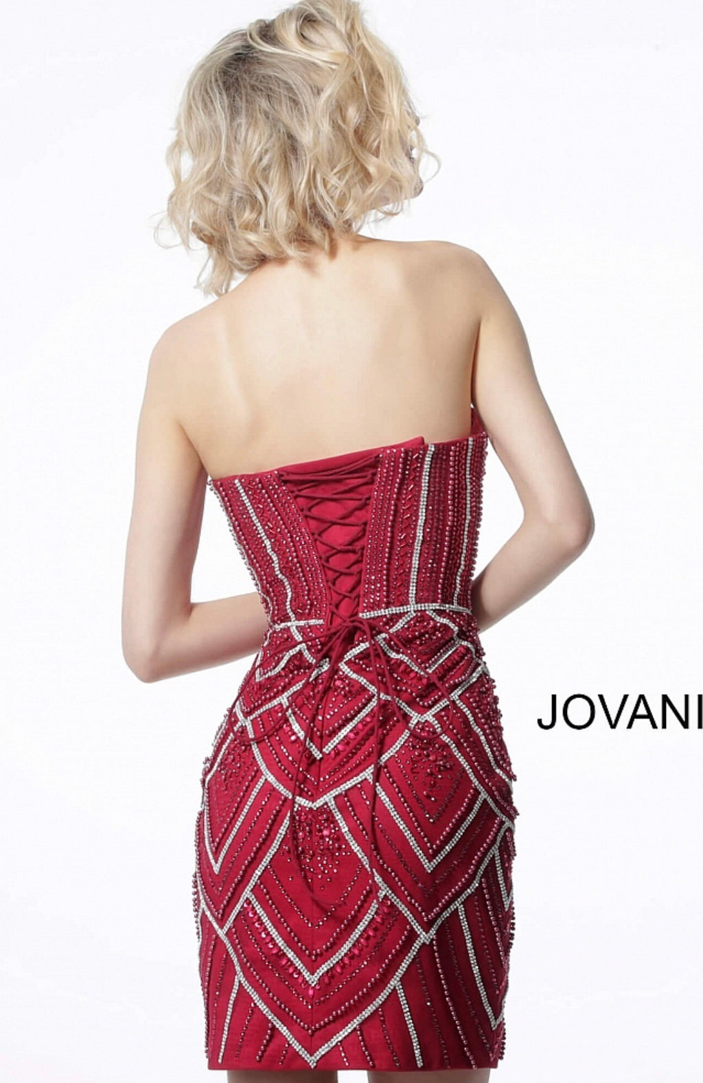 JOVANI 2394 Strapless Corset Dress - CYC Boutique