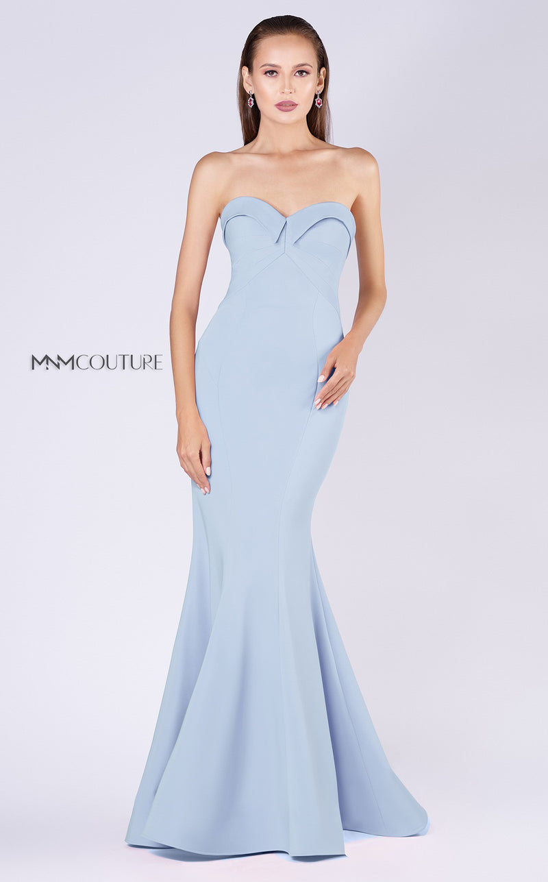 MNM Couture M0002 Strapless Evening Dress - CYC Boutique
