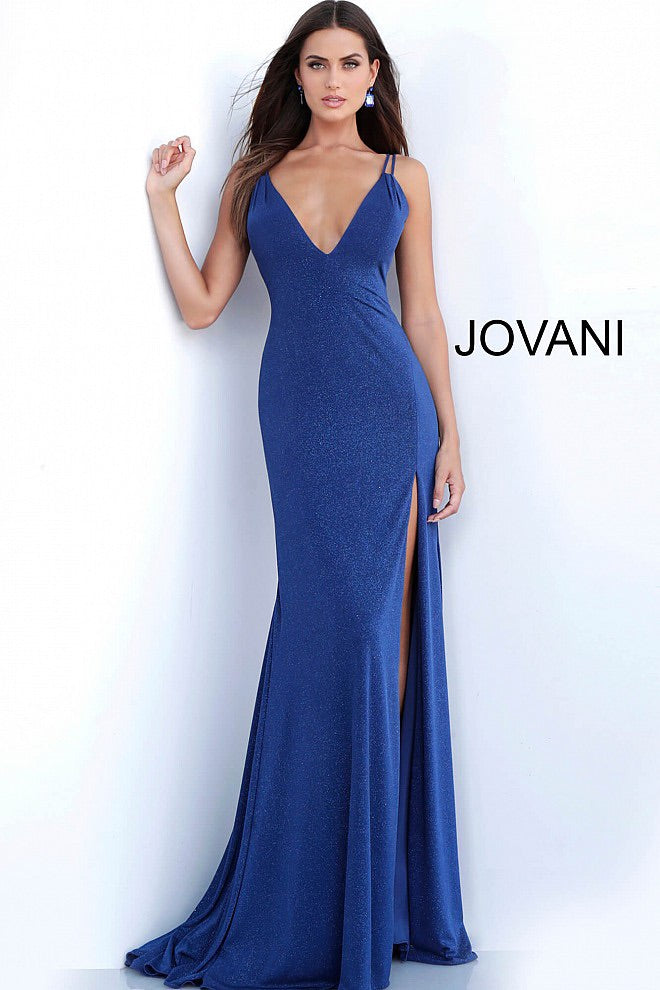JVN58557 Fitted Evening Dress