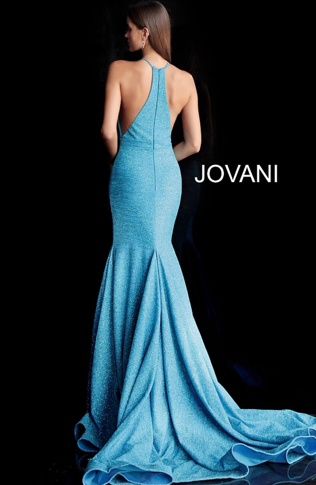 JOVANI 67563 Racerback Evening Dress - CYC Boutique