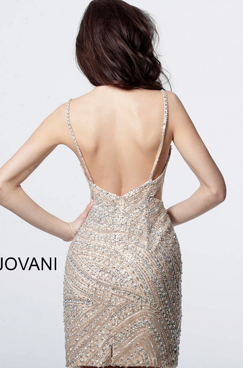 JOVANI 4404 Beaded Cocktail Dress