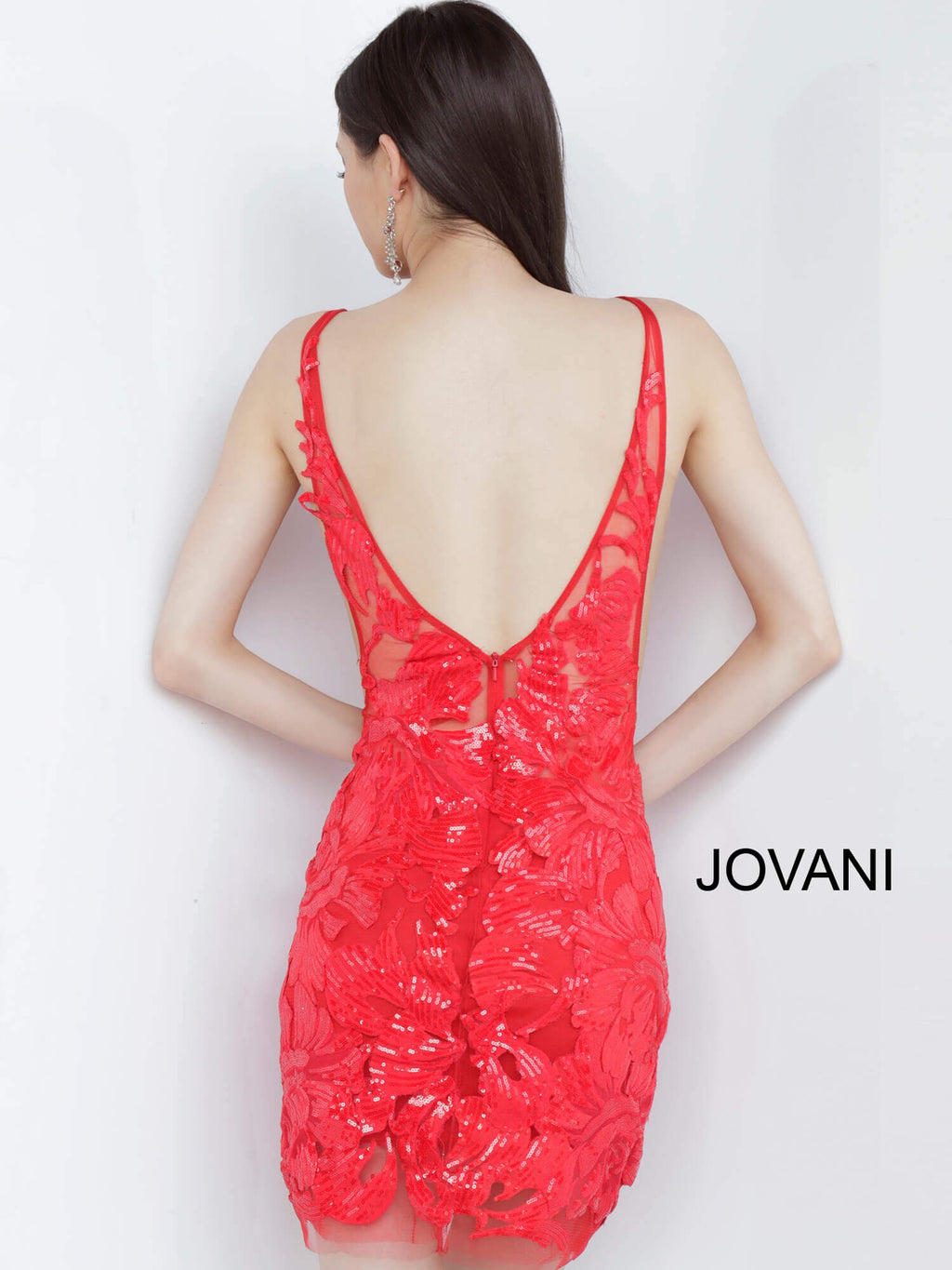 JOVANI 4552 Embellished Cocktail Dress - CYC Boutique