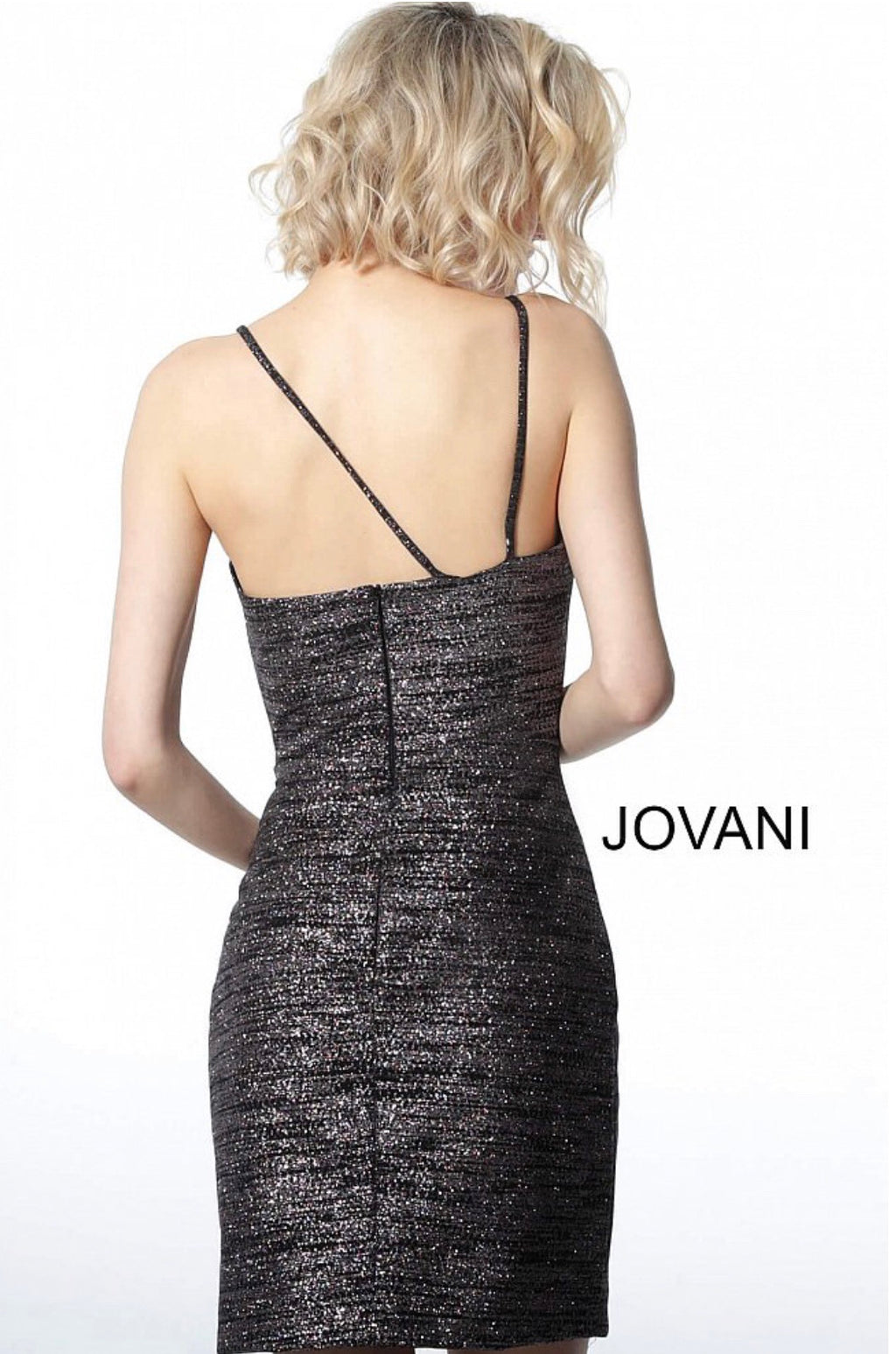 JOVANI 1128 Front Cut-Out Cocktail Dress - CYC Boutique