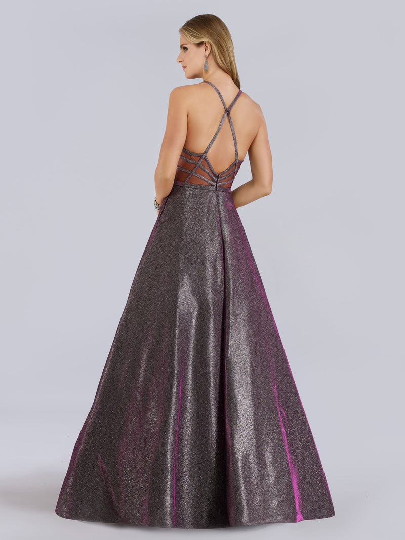Lara Dresses 29779 Shimmering A-line Gown - CYC Boutique