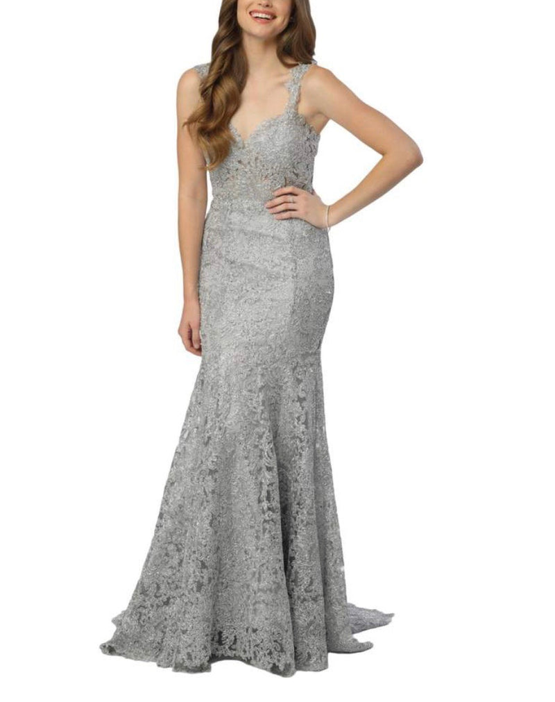 Nox Anabel R216 Lace Mermaid Gown - CYC Boutique