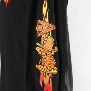 Black Long-sleeve Boss Hoss Flame Shirt XL & 2X OUT OF STOCK