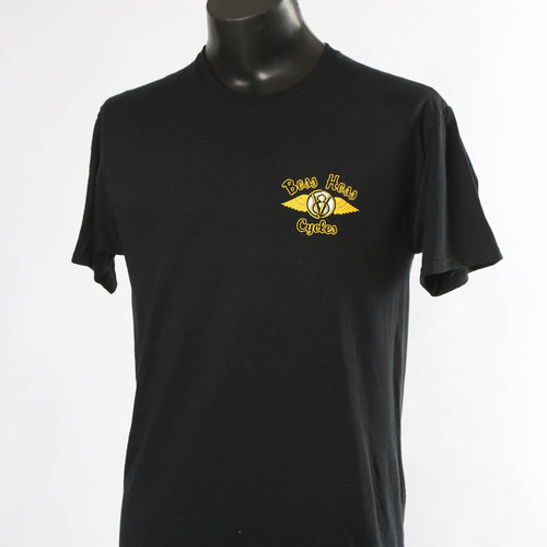 Black Boss Hoss Original Logo Shirt XL & 2X ARE OUT OF STOCK