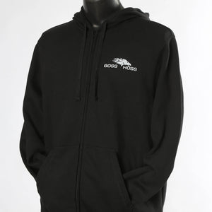Black Boss Hoss Hoodie LG, XL AND 3X OUT OF STOCK