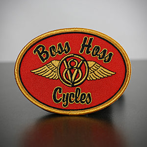 Red Boss Hoss Patch