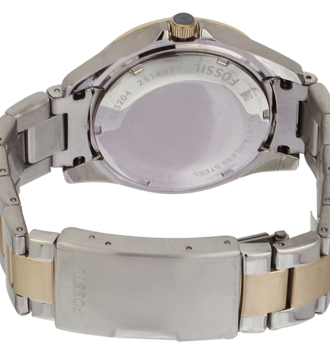 c1782ab2635 Fossil Womens ES3204 Riley Silver and Gold Tone Watch – time